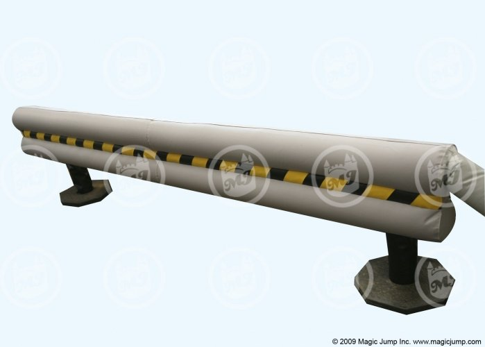 Inflatable Guard Rails