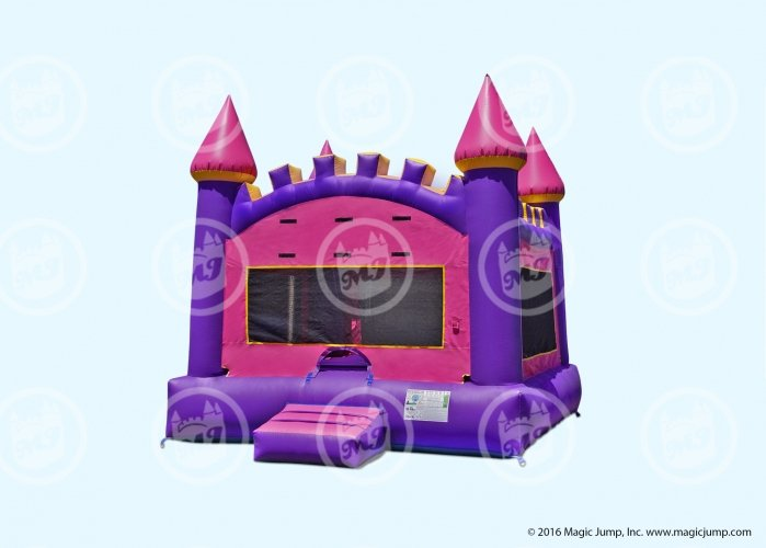 Arched Pink Castle