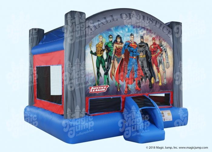 Justice League Bounce House 15