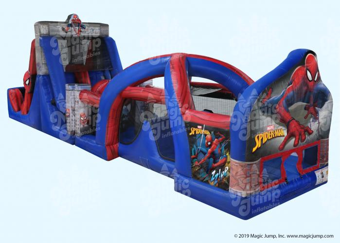 Spider-Man 50 Obstacle Course Wet or Dry