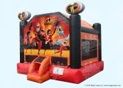 Incredibles 2 Bounce House 15