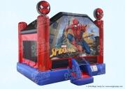 Spider-Man Bounce House 15
