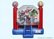 Marvel Avengers Bounce House 13