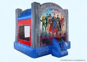 Justice League Bounce House 13
