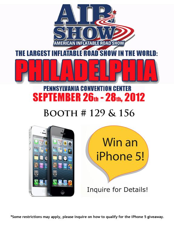 iPhone 5 Giveaway at AIR Show in Philadelphia